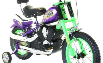 Spike Easy Rider Green Chopper 14 inch Wheel Size Kids Bike