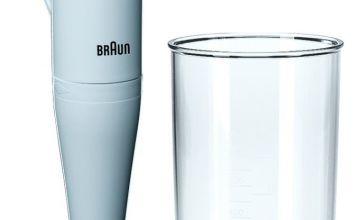 Braun MQ100 Soup Hand Blender - White