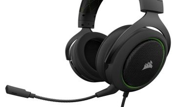 Corsair HS50 Xbox One, PS4, PC Headset - Black & Green