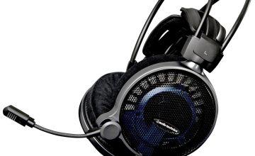Audio Technica ATH-ADG1X Gaming Headset - Black/Blue.
