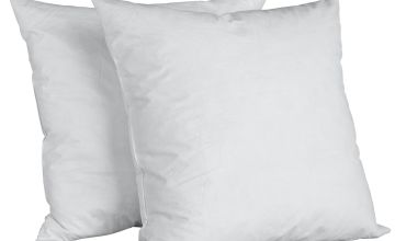 Argos Home Pack of 2 Feather Cushion Pads - 50x50cm