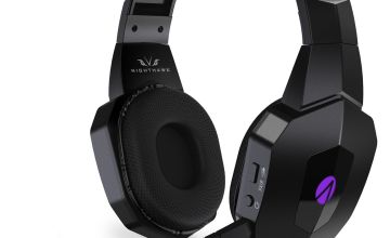 Stealth Nighthawk Wireless PS4, PC Headset- Black