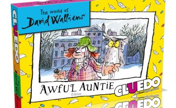 David Walliams Awful Auntie Cluedo Board Game