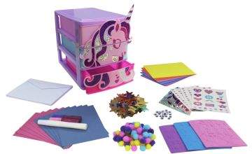 Chad Valley Be U Unicorn Card Making Set