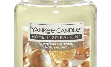 Home Inspiration Large Candle - Glistening Christmas