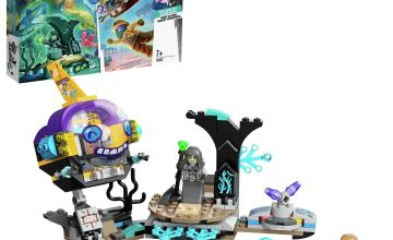 LEGO Hidden Side J.B.'s Submarine AR App Set 70433