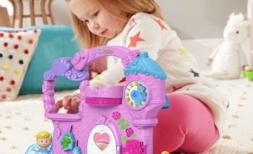 Fisher-Price Disney Princess Carry Along Castle