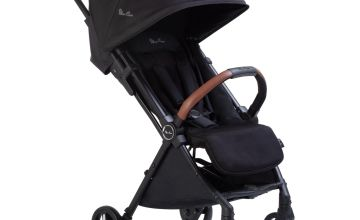 Silver Cross Jet Black Stroller