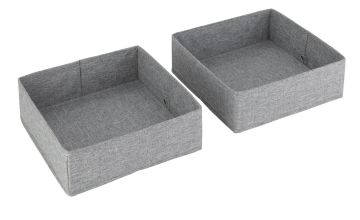 Argos Home Set of 2 Drawer Storage - Grey