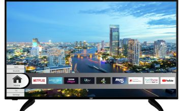 Bush 50 Inch Smart 4K UHD HDR DLED Freeview TV