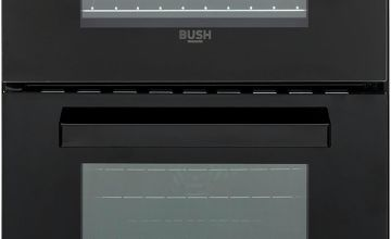 Bush DHBETC50B 50cm Twin Cavity Electric Cooker - Black