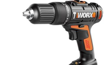 WORX WX386.4 18V 20V MAX Cordless Hammer Drill +50pc Set