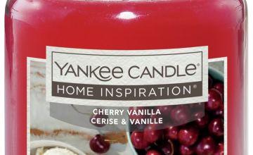 Home Inspiration Large Jar Candle - Cherry Vanilla