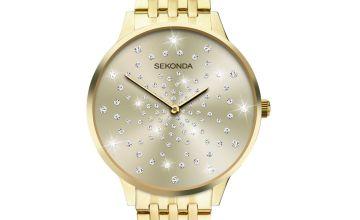 Sekonda Gold Stainless Steel Bracelet Watch