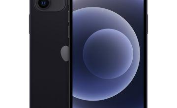 SIM Free iPhone 12 64GB Mobile Black