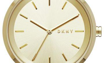 DKNY Ladies Soho NY2621 Gold Tone Bracelet Watch