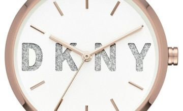 DKNY Ladies Soho NY2654 Rose Glitter Bracelet Watch