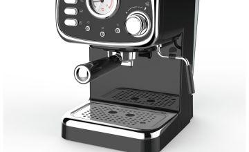 Cookworks CM5013B-GS Espresso Coffee Machine