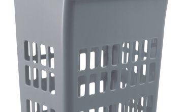 Argos Home 54 Litre Laundry Bin - Flint Grey