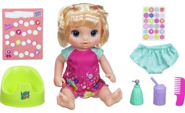 Baby Alive Potty Dance Baby: Talking Baby Doll (Blonde Hair)