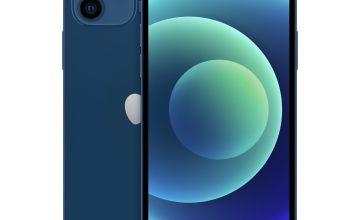 SIM Free iPhone 12 256GB Mobile Phone Blue