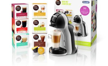 Nescafe Dolce Gusto De'Longhi Mini Me Coffee Machine Bundle