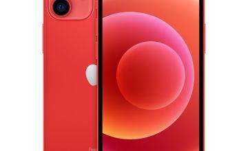 SIM Free iPhone 12 mini 64GB 5G Mobile Phone - Product Red