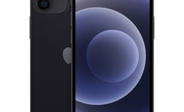 SIM Free iPhone 12 mini 256GB 5G Mobile Phone - Black