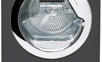 Hoover DXO C9TCER 9KG Condenser Tumble Dryer - Graphite
