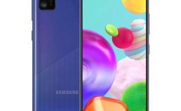 SIM Free Samsung A41 64GB Mobile Phone - Blue