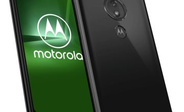 SIM Free Motorola G7 Power 64GB Mobile Phone - Black