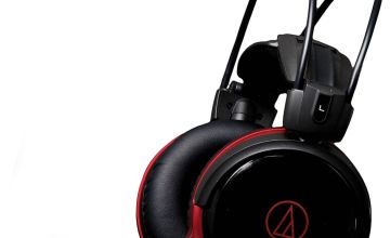 Audio Technica ATH-AG1X Gaming Headset - Black/Red.