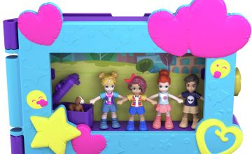 Polly Pocket Say Freeze! Pocket World