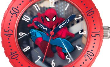 Marvel Spider-Man Blue Velcro Strap Watch