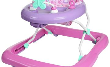 Chad Valley Butterfly Fun Foldable Pink Baby Walker