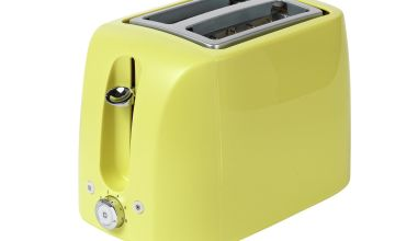 Cookworks 2 Slice Toaster - Green