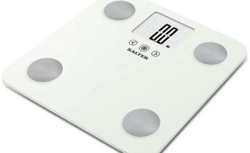 Salter Max Body Analyser Scale - White