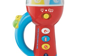 VTech Spin & Learn Colours Play Torch