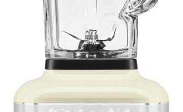 KitchenAid Artisan K400 Glass Jar Blender - Almond Cream