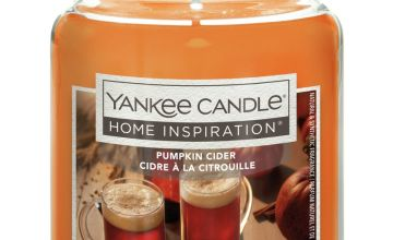 Yankee Candle Large Jar Candle - Pumpkin Cider