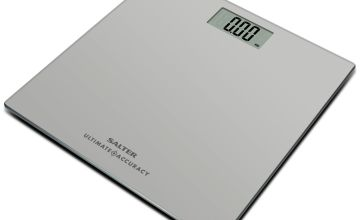 Salter Ultimate Accuracy Electronic Bathroom Scale - Silver