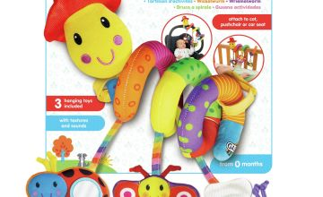 GALT Wiggly Worm Hanging Toy