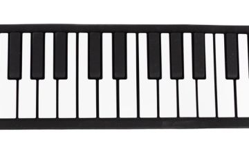 Music Alley 49-key Roll up piano with built in speaker
