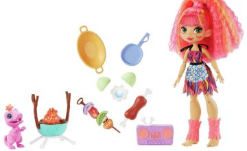 Cave Club Wild about BBQ's Playset with Emberley