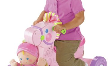 Fisher-Price Musical Pony and Princess Doll