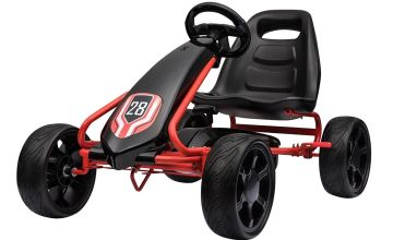 Spike Go Kart Ride On - Red