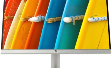HP 22f 21.5 Inch FHD Ultraslim IPS Monitor - Silver/Black