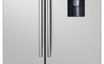 Hisense RS741N4WC11 Fridge Freezer - Silver
