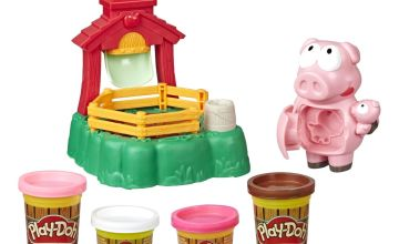 Play-Doh Animal, Pigsley and her Splashin' Pigs Farm Playset