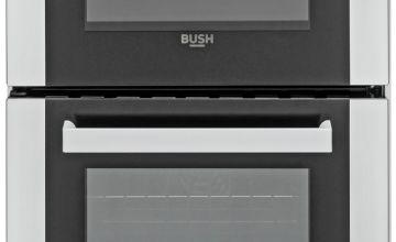 Bush DHBETC50W 50cm Twin Cavity Electric Cooker - White